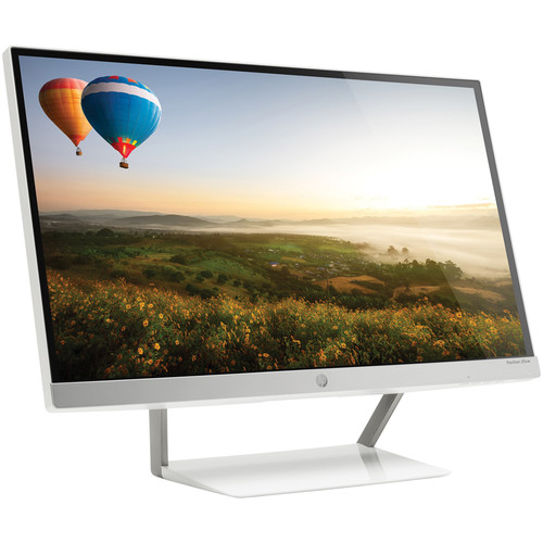 "HP Pavilion 25xw 25"" IPS LED Backlit Monitor (Snow White/Natural Silver)"