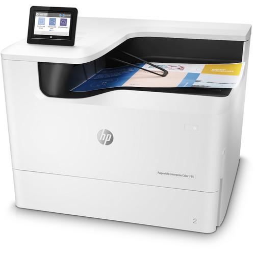 HP PageWide Enterprise Color 765dn Inkjet Printer