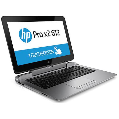 "Pro X 2: HP 12.5"" Pro X2 612 G1 256GB Tablet With Power J8V92UT#ABA"