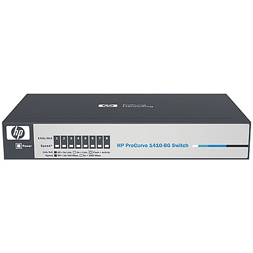 HP 1410 Series 8-Port Gigabit Unmanaged Switch