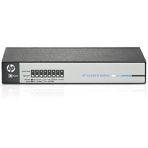 HP 1410 Series 8-Port Fast Ethernet Switch