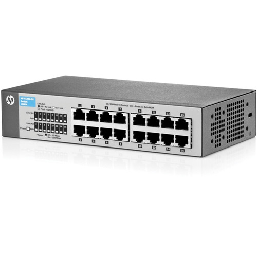 HP 1410 Series 16-Port Fast Ethernet Switch