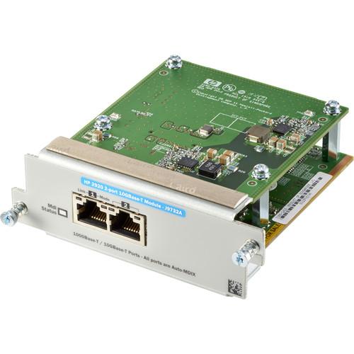 HP Aruba 2920 2-Port 10GBASE-T Module