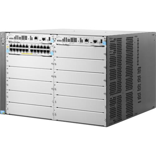 HP Aruba J9822A 12-Slot 10 GbE & PoE+ Managed Switch