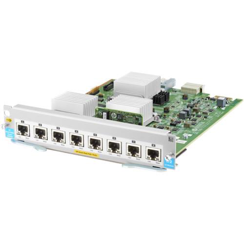 HP Eight Smart Rate Ports 1/2.5/5/XGT PoE+ v3 Module for 5400R zl2 Switch