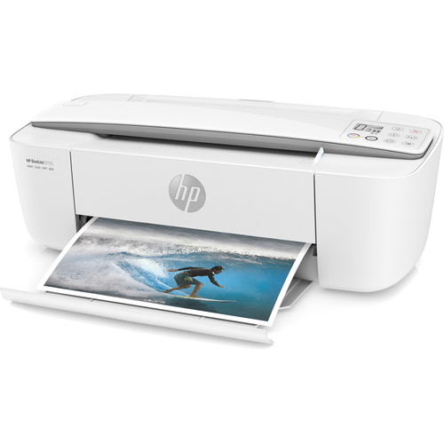 HP DeskJet 3755 All-in-One Inkjet Printer (White)