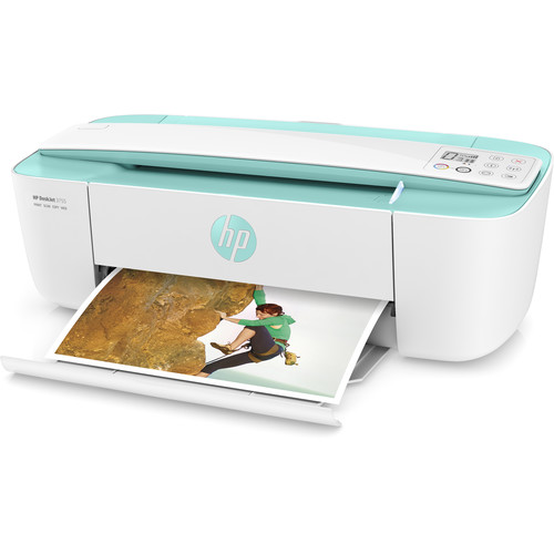 HP DeskJet 3755 All-in-One Inkjet Printer (Sea Foam Green)