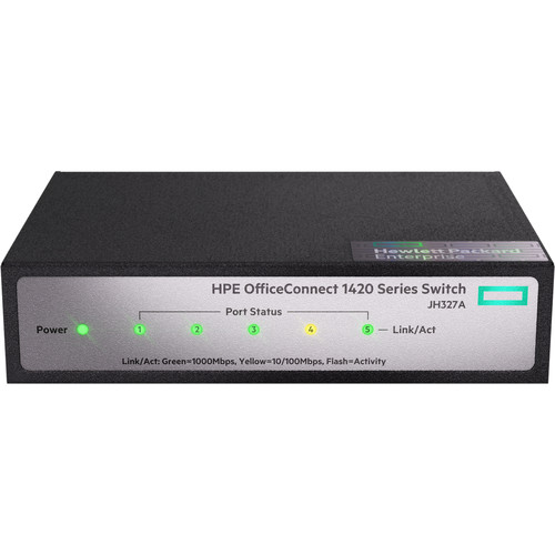 HP OfficeConnect 1420 5-Port Gigabit Unmanaged Switch