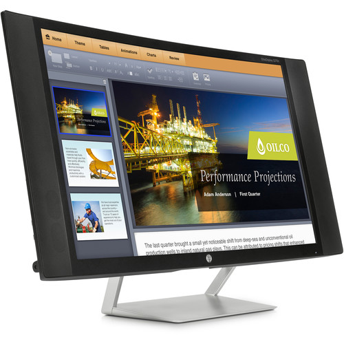 "HP EliteDisplay S270c 27"" 16:9 Curved LCD Monitor"