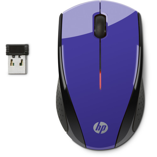 HP X3000 Wireless Mouse (Purple)