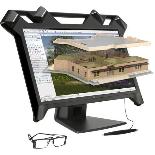 """HP K5H59A8 23.6"""" 16:9 Virtual Reality LCD Monitor"""