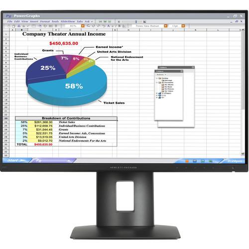 "HP Z24n 24"" Narrow Bezel IPS Display"