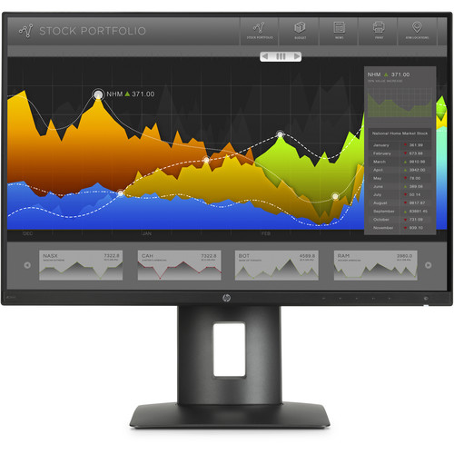 "HP Z24nF 23.8"" Narrow Bezel IPS Display"