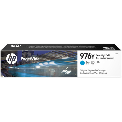 HP 976Y Extra High Yield Cyan Original PageWide Cartridge