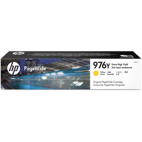 HP 976Y Extra High Yield Yellow PageWide Cartridge (163.5mL)