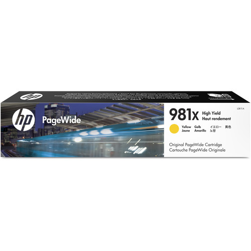 HP 981X High Yield Yellow PageWide Ink Cartridge