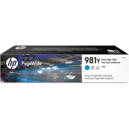 HP 981Y Extra High Yield Cyan PageWide Ink Cartridge