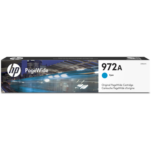 HP 972A Cyan PageWide Cartridge