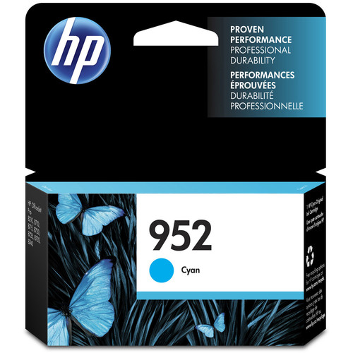 HP 952 Cyan Ink Cartridge