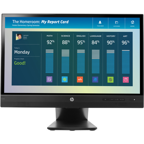"HP EliteDisplay E220t 21.5"" 16:9 LCD Touch Monitor"