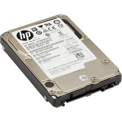 HP 300GB SAS 15K Small Form Factor Hard Drive