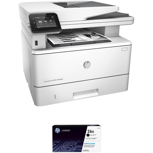 HP LaserJet Pro M426fdn All-in-One Printer with Extra 26A Black Toner Kit