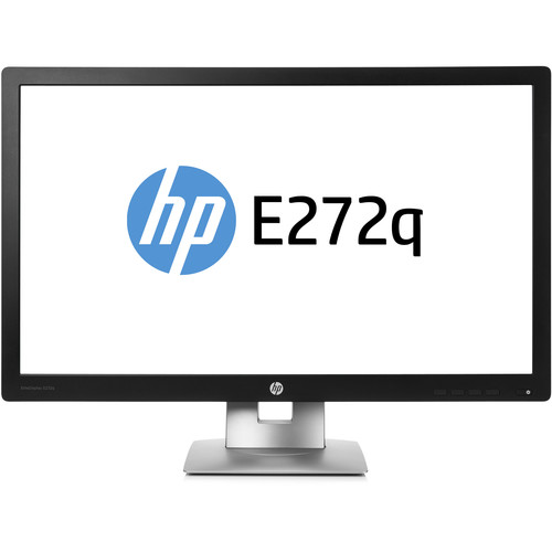 "HP EliteDisplay E272q 27"" 16:9 IPS Monitor (Black & Silver)"