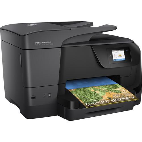 HP OfficeJet Pro 8710 All-in-One Inkjet Printer