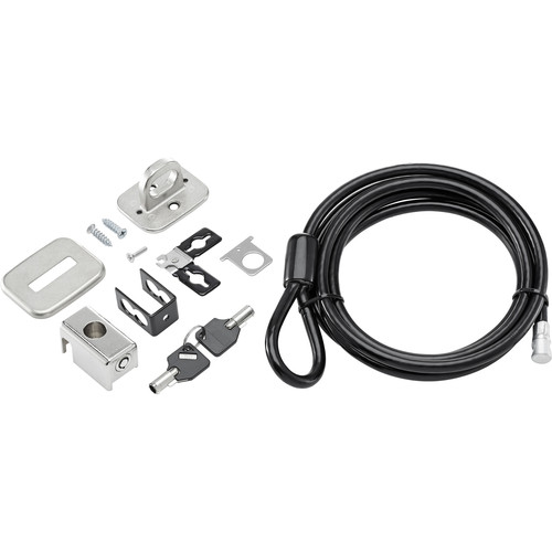 HP Business Keyed Cable Security Lock V2 Kit for PC & Display