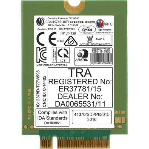 HP lt4120 LTE/EV-DO/HSPA+ WWAN Mobile Module