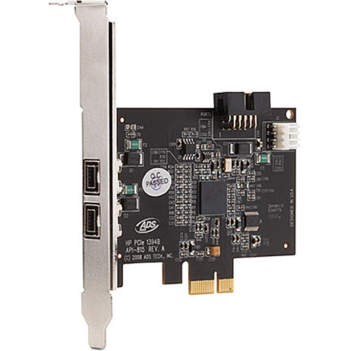HP IEEE 1394b FireWire PCIe Card