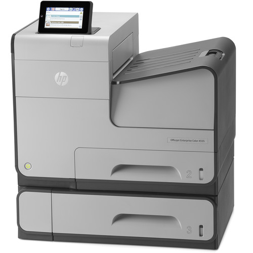 HP Officejet Enterprise X555xh Color Inkjet Printer