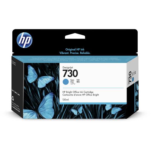 HP 730 Cyan Ink Cartridge (130mL)