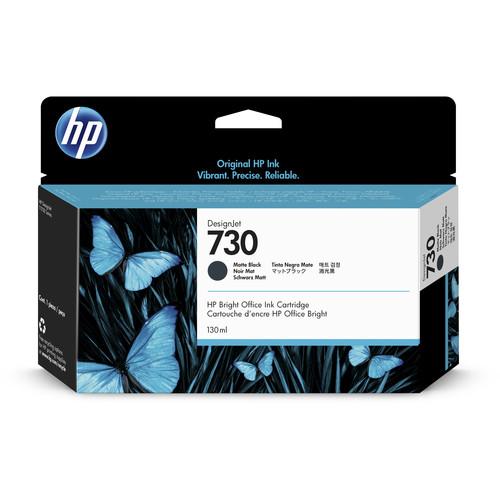 HP 730 Matte Black Ink Cartridge (130mL)