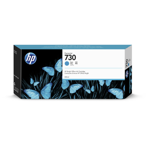 HP 730 Cyan Ink Cartridge (300mL)