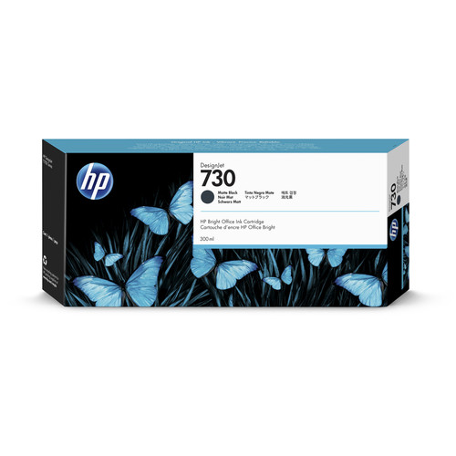 HP 730 Matte Black Ink Cartridge (300mL)