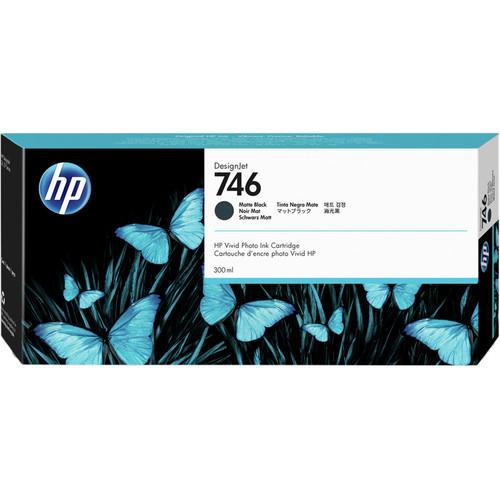 HP 746 Designjet Matte Black Ink Cartridge (300mL)