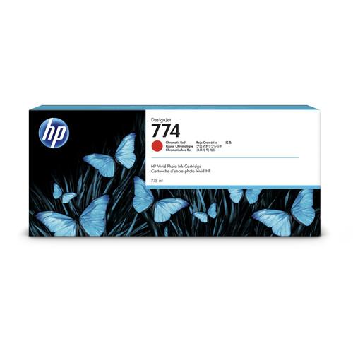 HP 774 Chromatic Red DesignJet Ink Cartridge (775mL)