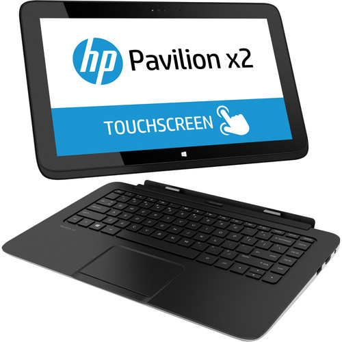 "HP Pavilion x2 11-h010nr Multi-Touch 11.6"" Ultrabook Computer (Sparkling Black)"
