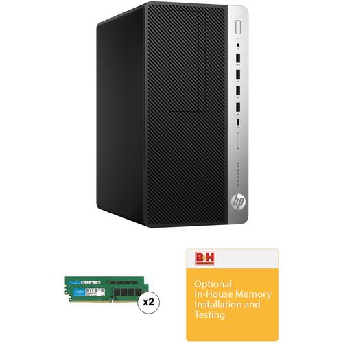 HP ProDesk 600 G3 Microtower B&H Custom Desktop Computer
