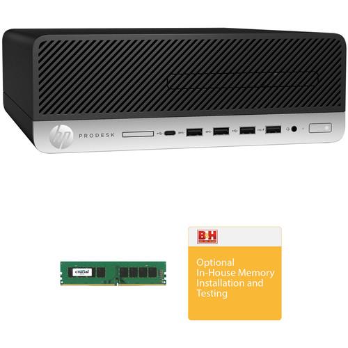 HP ProDesk 600 G3 Small Form Factor B&H Custom Workstation