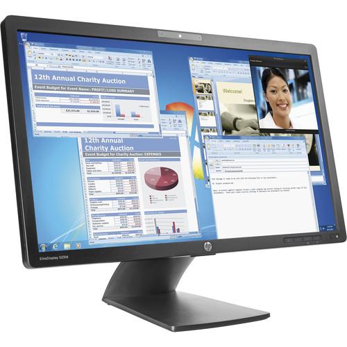 """HP EliteDisplay S231d 23"""" 16:9 IPS Notebook Docking Monitor (Smart Buy)"""