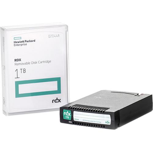 Hewlett Packard Enterprises 1TB RDX Removable Disk Cartridge