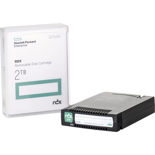 HP 2TB RDX Removable Disk Cartridge