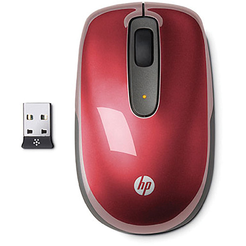 HP Wireless Mobile Mouse (Sonoma Red)