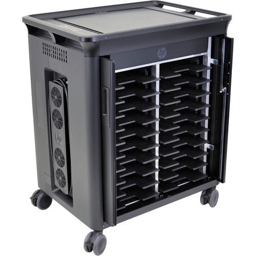 HP 20-Notebook Charging Cart