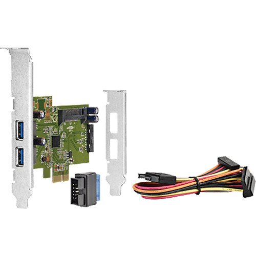 HP 4-Port USB 3.0 SuperSpeed PCIe 1x Card
