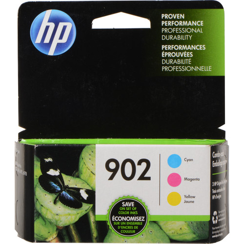 HP 902 Cyan/Magenta/Yellow Ink Cartridge 3-Pack