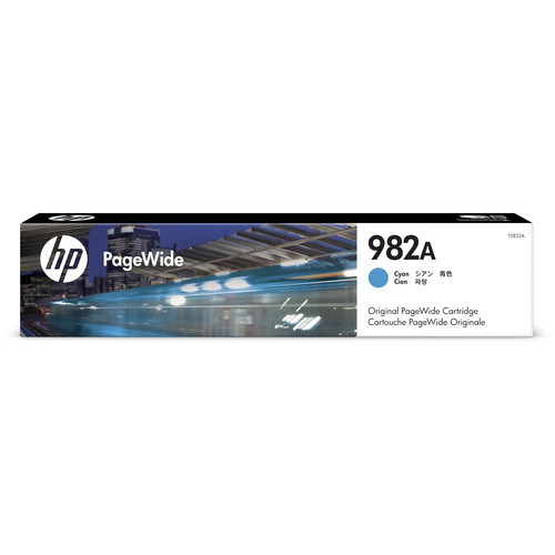 HP 982A Cyan PageWide Ink Cartridge
