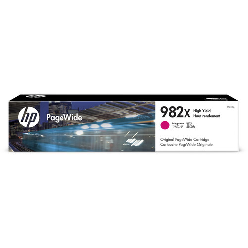 HP 982X High Yield Magenta PageWide Ink Cartridge